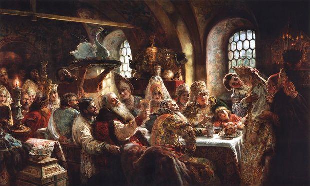 Свадьба на Руси. Фото с сайта mariamagdalina.ru