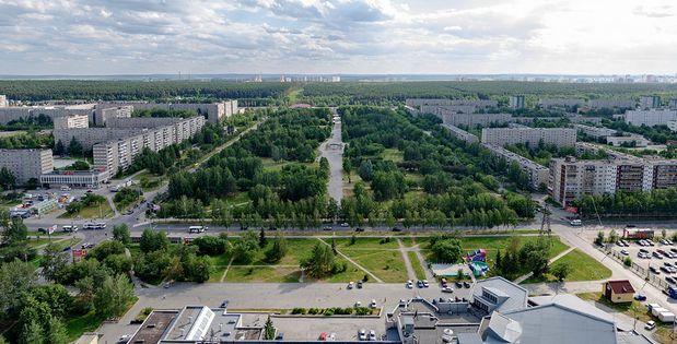 Парк Чкалова. Фото с сайта urban3p.ru