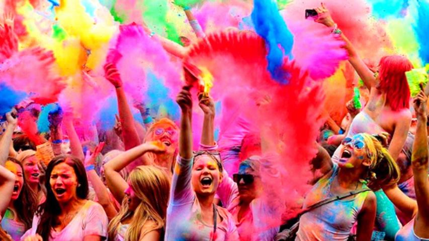 Фестиваль «Холи». Фото с сайта life.ru