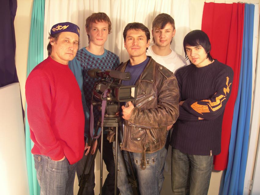 Съемочная группа Леонида Андронова. Фото из личного архива