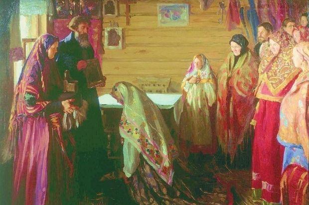 Свадьба на Руси. Фото с сайта irnella.livejournal.com