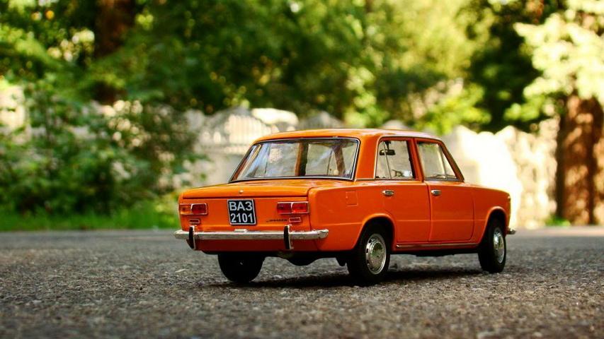 Автомобильная модель ВАЗ 2101. Фото с сайта all-auto.org