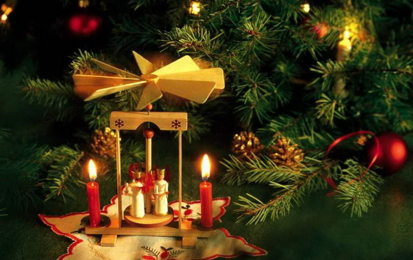 Европейское рождество. Фото с сайта pahklimae.edu.ee