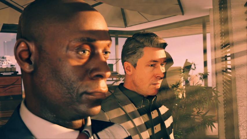 Скриншот из игры Quantum Break