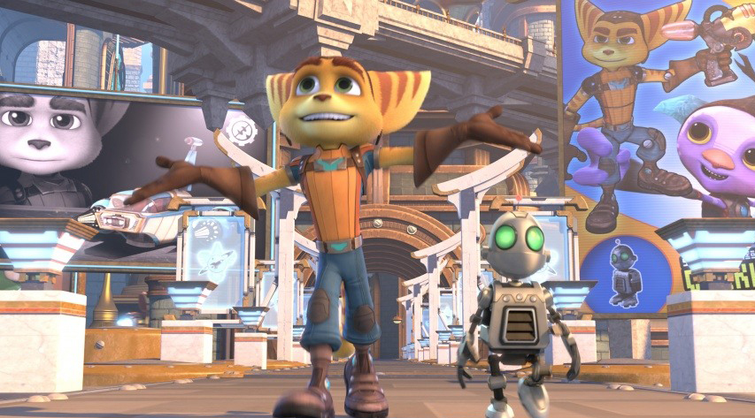 Кадр из фильма «Рэтчет и Кланк: Галактические рейнджеры»