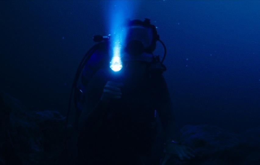 Кадр из фильма «Синяя бездна»