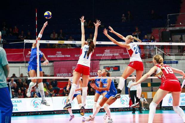 Сборная России победила Италию на домашнем Гран-при