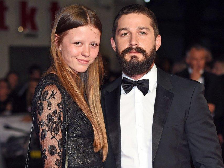 ЛаБаф с женой. Фото с сайта imdb.com