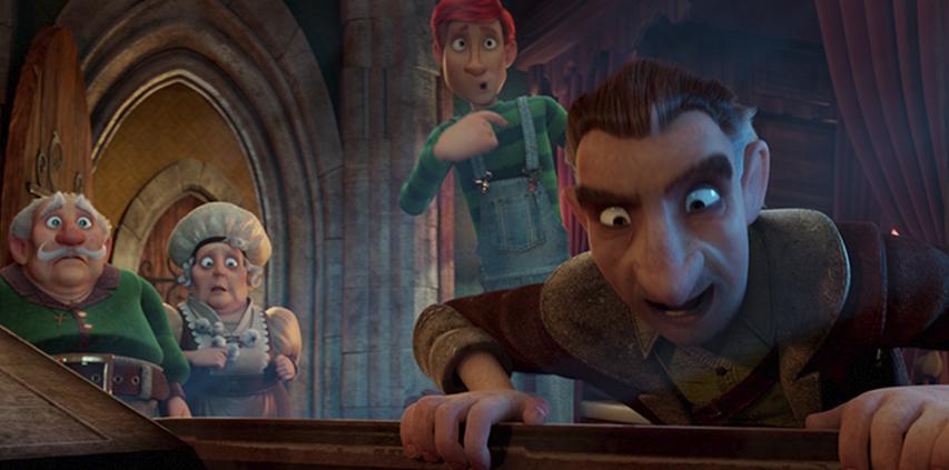 Кадр из фильма «Маленький вампир»