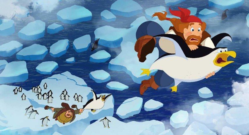 Кадр из фильма «Три богатыря и морской царь»