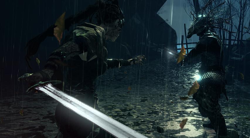 Скриншот из игры «Hellblade: Senua's Sacrifice»