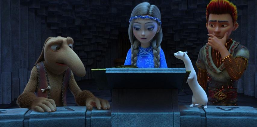 Кадр из фильма «Снежная королева 3: огонь и лед»