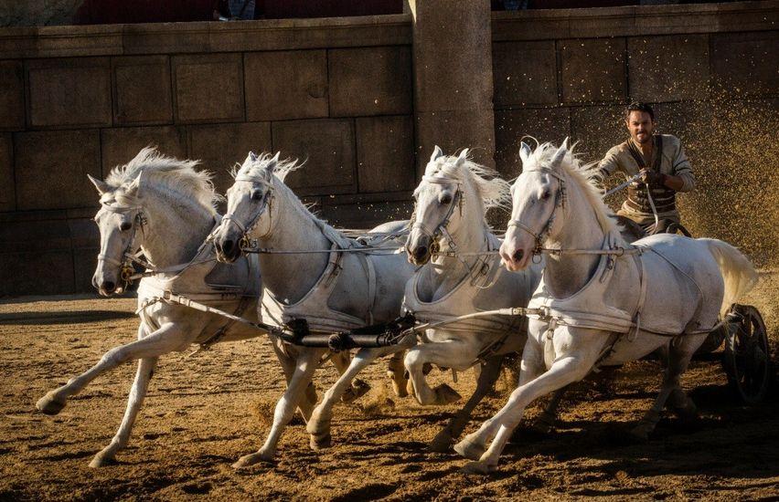 Кадр из фильма «Бен-Гур»