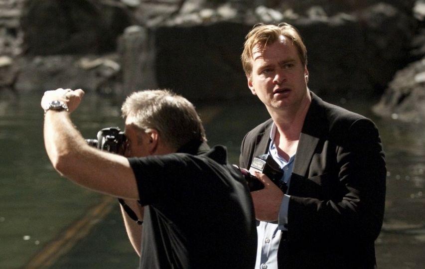 На съемках фильма «Темный рыцарь: Возрождение легенды». Фото с сайта kinopoisk.ru
