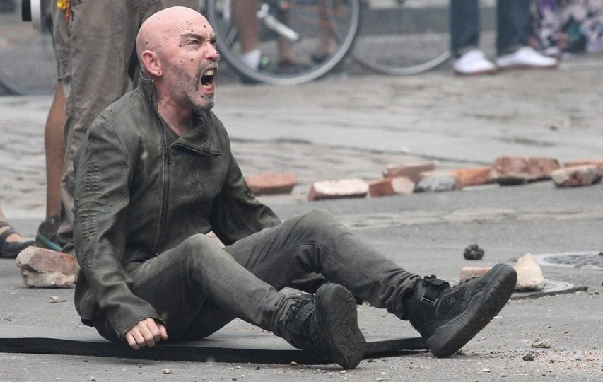 На съемках фильма «Темная башня». Фото с сайта kinopoisk.ru