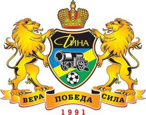 Логотип мфк «Дина»