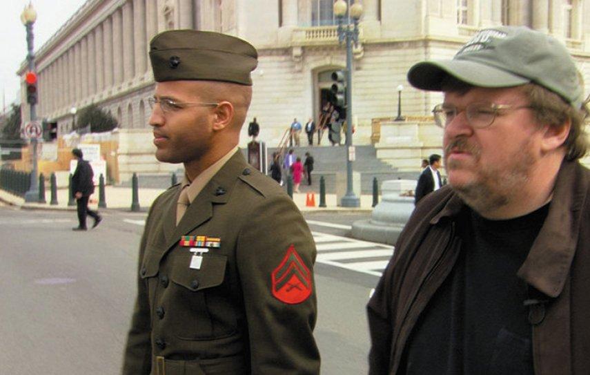 Кадр из фильма «Фаренгейт 9/11»