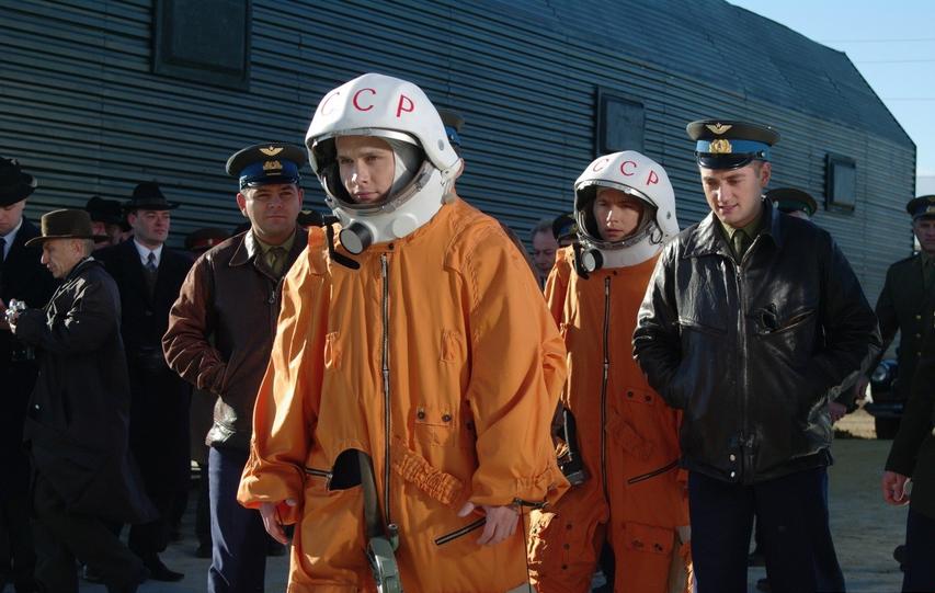 Кадр из фильма «Гагарин: Первый в космосе»