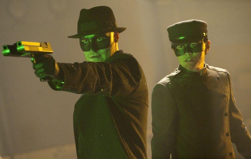 Кадр из фильма «Зеленый шершень»