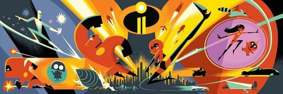 Концепт мультфильма «Суперсемейка 2»