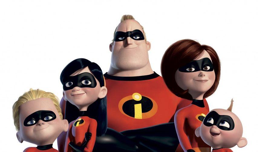 Постер мультфильма «Суперсемейка»