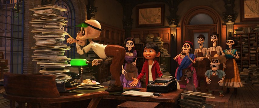 Кадр из фильма «Тайна Коко»