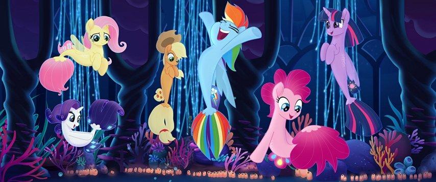 Кадр из мультфильма «My Little Pony в кино»