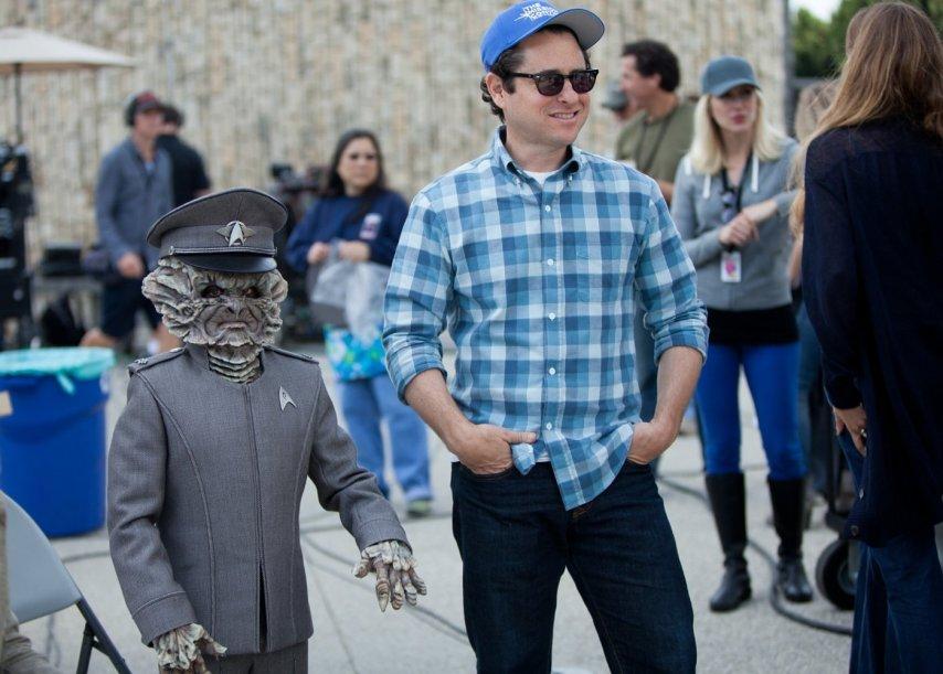 Абрамс на съемках «Стартрека». Фото с сайта imdb.com