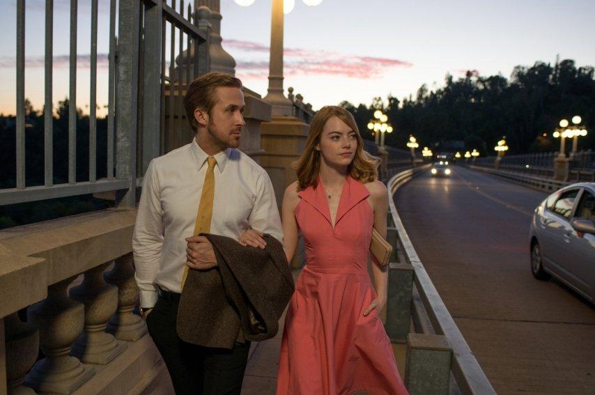 Кадр из фильма «Ла Ла Лэнд»
