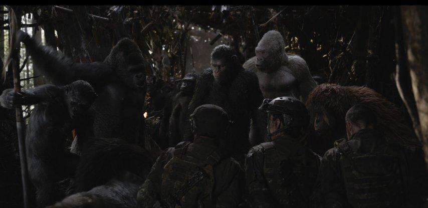 Кадр из фильма «Планета война: Война»