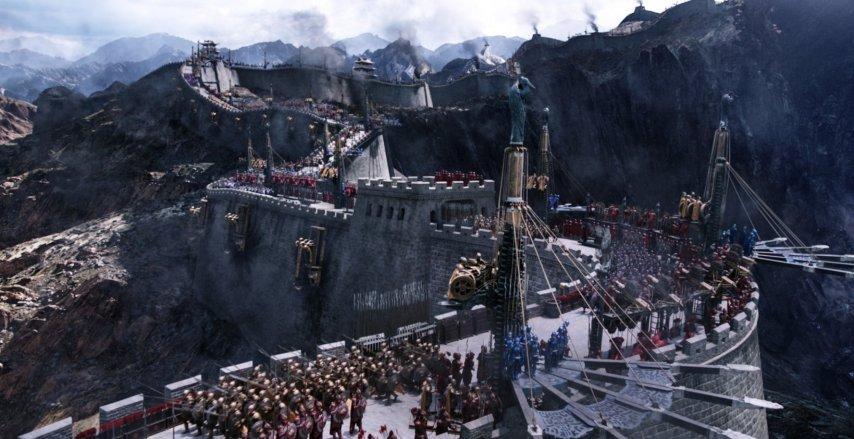Кадр из фильма «Великая стена»