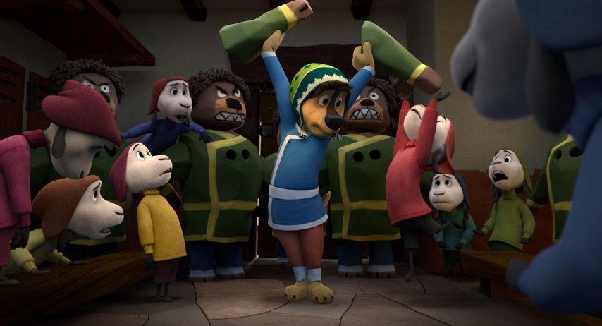 Кадр из фильма «Рок Дог»
