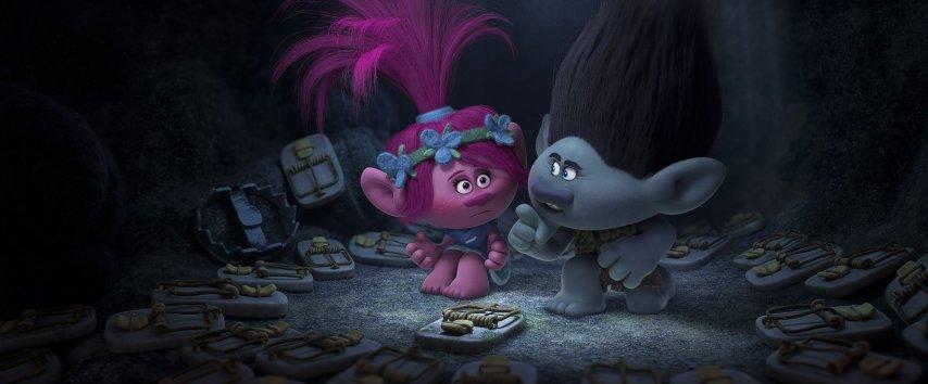 Кадр из фильма «Тролли»