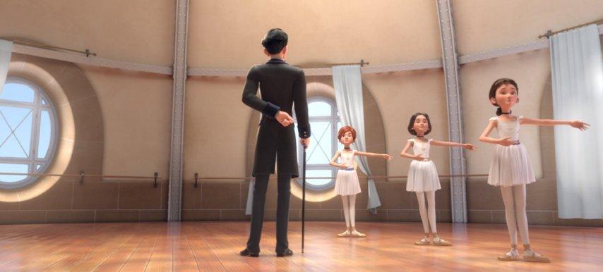 Кадр из фильма «Балерина»