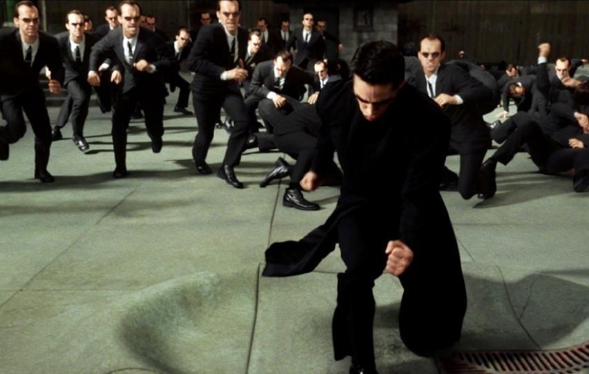 Кадр из фильма «Матрица: Перезагрузка»