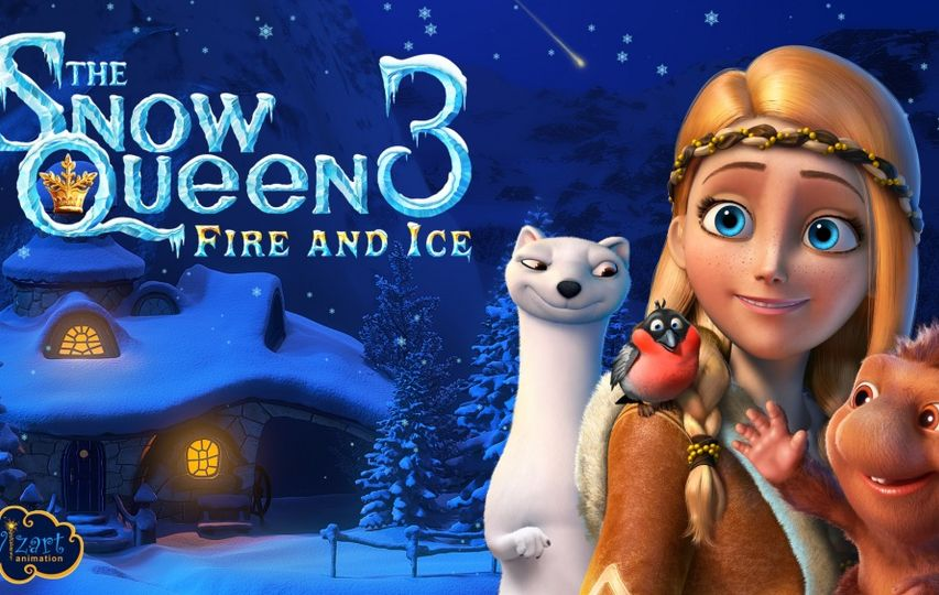 Постер мультфильма «Снежная королева 3»