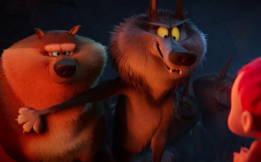 Кадр из мультфильма «Аисты»