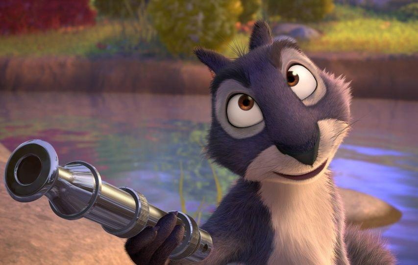 Кадр из мультфильма «Реальная белка»