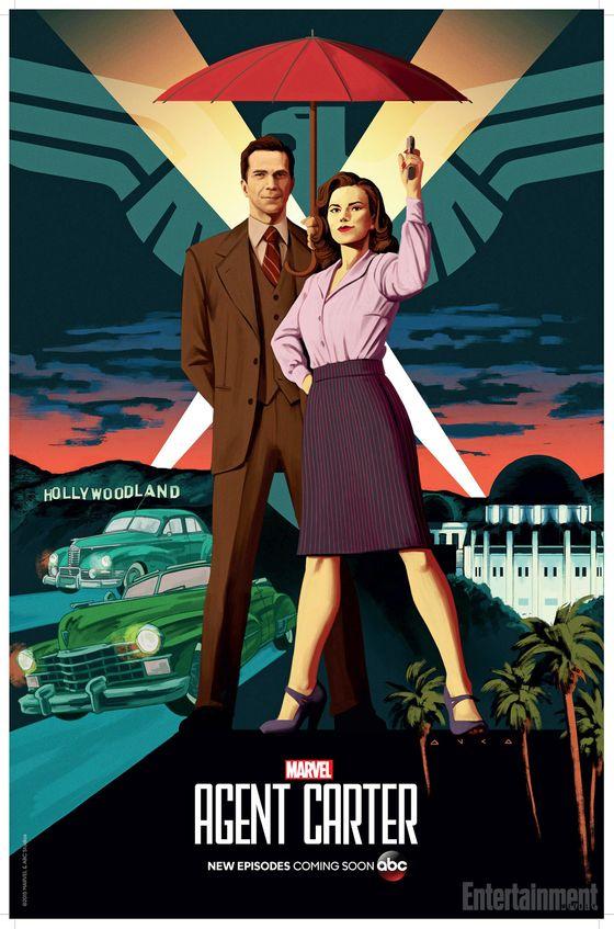 Постер сериала «Агент Картер»
