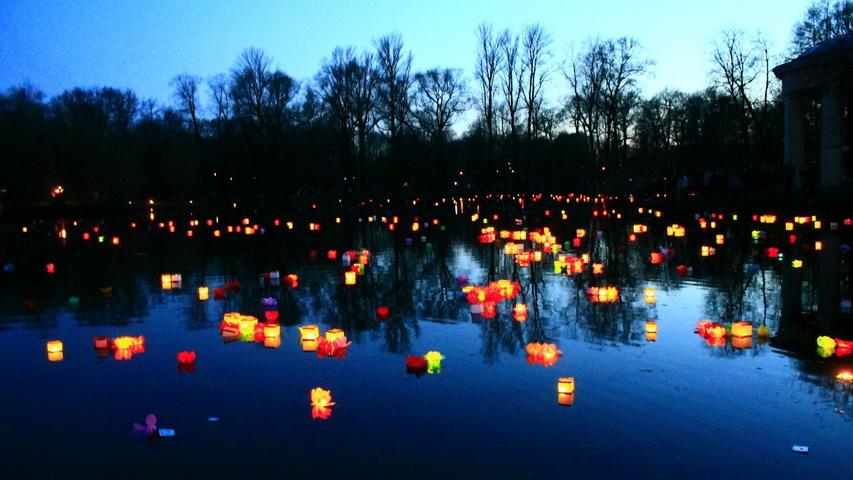 Фестиваль водных фонариков. Фото с сайта kudago.com