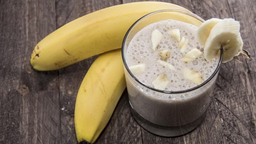 Как сделать напиток с бананом 491
