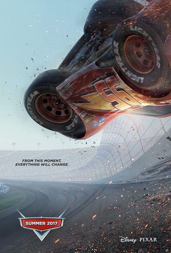 Постер мультфильма «Тачки 3»