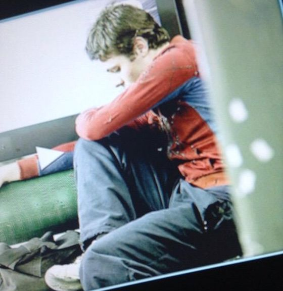 Кадр из фильма «Мария и Человек-паук»