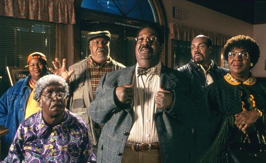 Кадр из фильма «Чокнутый профессор 2»