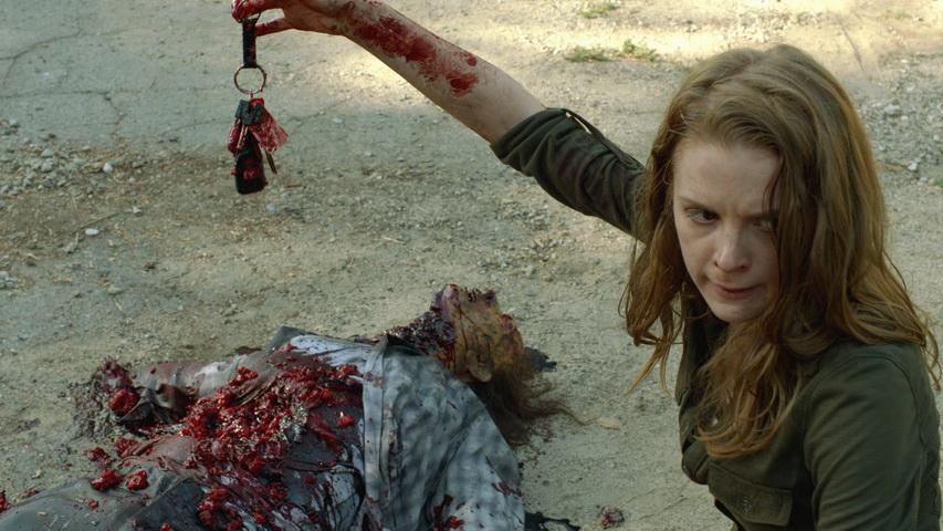Кадр из сериала «Ходячие мертвецы»