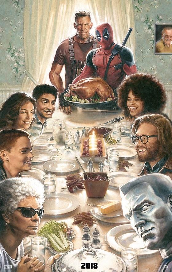 Постер фильма «Дэдпул 2»