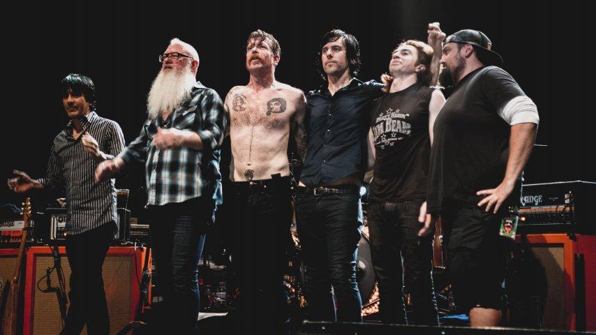 The Eagles of Death Metal. Фото с сайта echoba.se