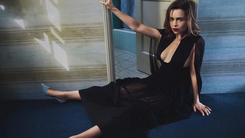Фотосессия актрисы Эмилии Кларк. Фото с сайта g-l-a-m.ru