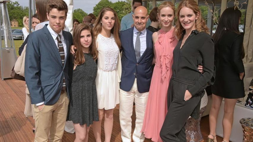 Семья Блант-Туччи. Фото с сайта GotCeleb