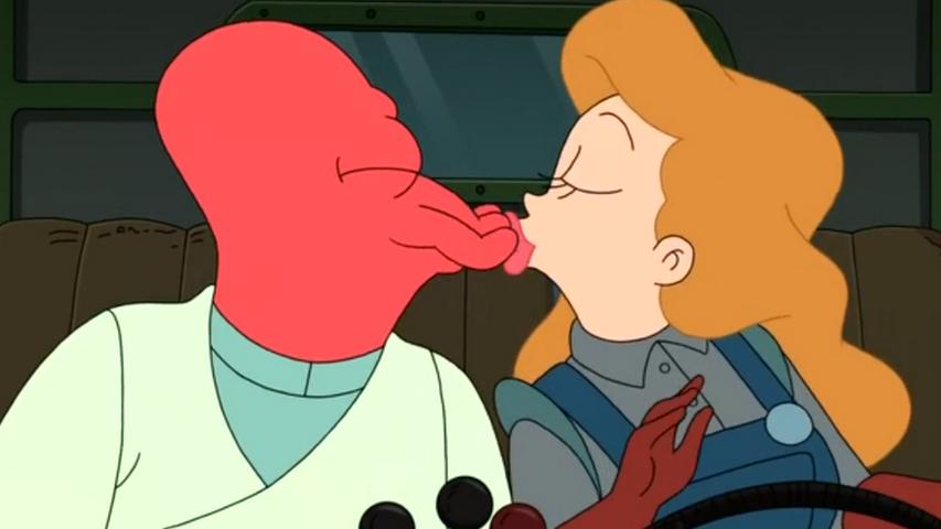Кадр из мультсериала «Футурама»